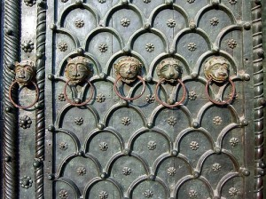 Figure 1: Central Portal Door San Marco, from Constantinople, Venice, Italy. http://flickr.com/photos/adraskoy/255295388/