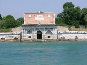 Sanmicheli, Fortezza di Sant' Andrea, 1535-43, Venice (Photograph by Marjorie Och)