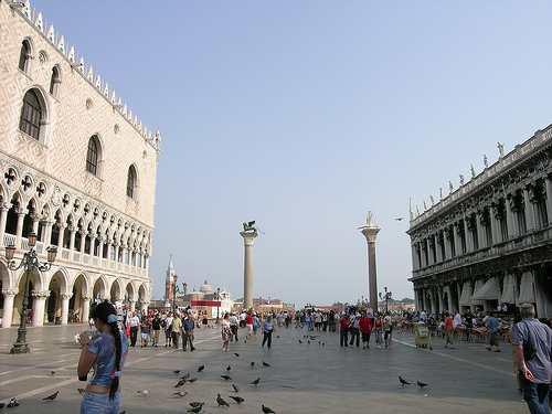 The Piazzetta, Venice (Photograph by Marjorie Och)