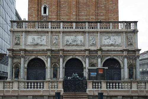 Jacopo Sansovino, Loggetta, begun 1537, Venice (Photograph by Gaspa, http://flickr.com/photos/gaspa/)