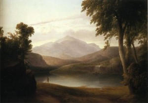 Thomas Doughty, In the Catskills, 1836, oil on canvas, Addison Gallery of American Art.