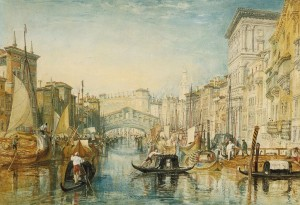 J.M.W. Turner, The Rialto, 1820-21, Indianapolis Museum of Art