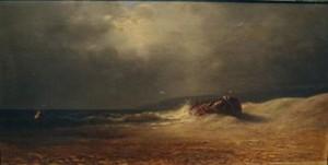 A.F. Bunner, The Wreck.