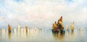 A.F. Bunner, Unknown Venice.