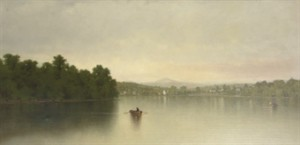 A.F. Bunner, On the River.