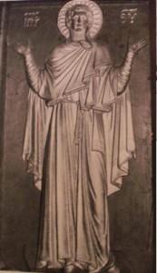 Figure 9:Madonna della Grazia, Venice, North Aisle.  Demus, Church of San Marco, Image 36.